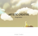 An image of CMS Conversion ArtisticCreative Parallax website