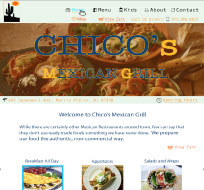 An image of a Mexican Restaurant out of biz website