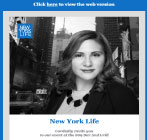 An image of New York Life HTML Email Campaign