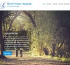 An image of Daniel Michaud Foundation new website