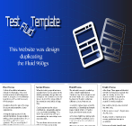 An image of a Template for Fluid 960 Tool website design