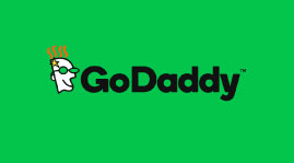 An icon image of GoDaddy