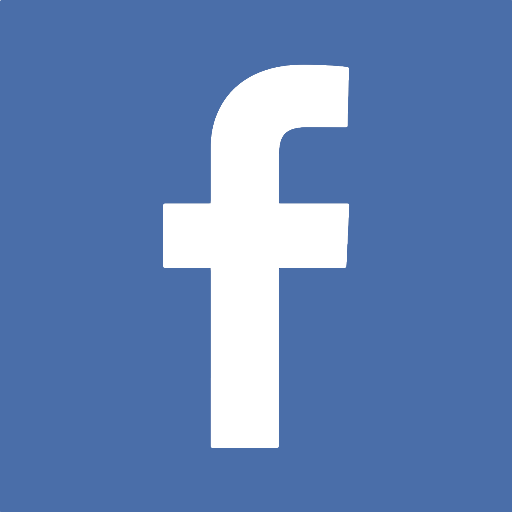 An image of the Facebook logo