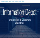 An image of CMS Conversion Information Depot website