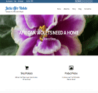 An image of CMS Conversion Jacks Afican Violet website