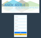 An image of Sandcastle Developers Insert New Employee page