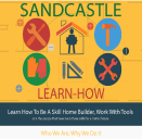 An image of Sandcastle Developers pending Learn How Landing page
