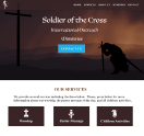 An image of a Template for Soldiers of the Cross website design