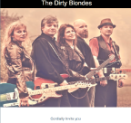 An image of The Dirty Blondes HTML Email Campaign